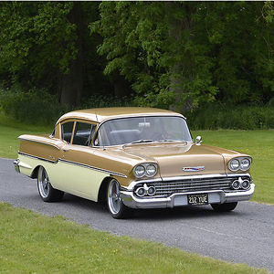 Chevrolet Delray, 1958, Brown, & cream