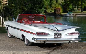 Chevrolet Impala convertible 1959 White