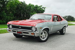 Chevrolet Nova SS 396, 1969, Red, & silver