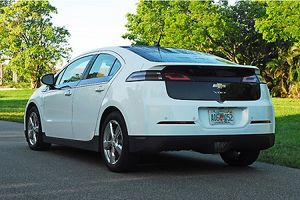 Chevrolet Volt E-REV (extended range electric vehicle), 2012, White