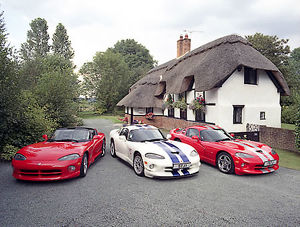 Chrysler Group of 3 Vipers