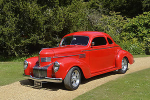Chrysler Imperial Victoria Coupe, 1939, Red