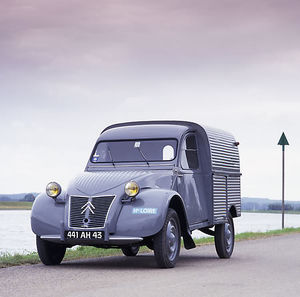 Citroen 2CV Van French
