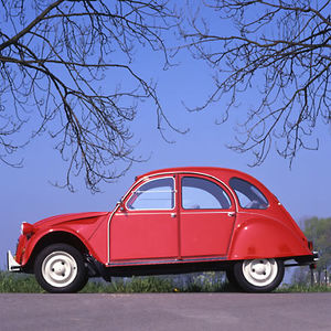 Citroen 2CV6 French