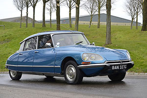 Citroen DS 1969 Blue