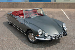Citroen DS 21 Cabriolet 1965 Grey