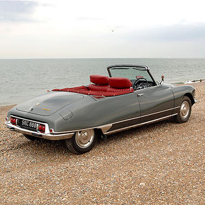 Citroen DS 21 Cabriolet, 1965, Grey