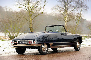 Citroen DS 21 Decapotable 1962 black