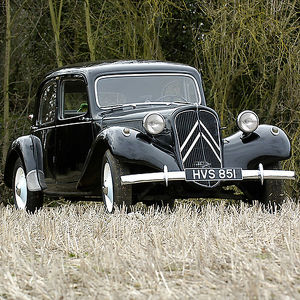 Citroen Traction Avant 1954 Black