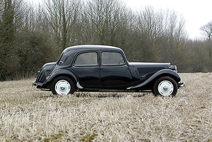 Citroen Traction Avant, 1954, Black