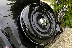 Citroen Traction Avant Cabriolet 1939 Black