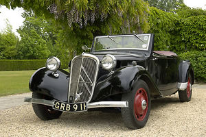 Citroen Traction Avant or Light 15 Cabriolet
