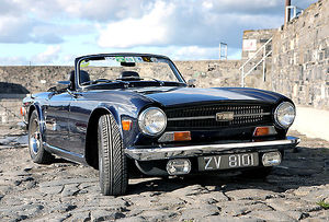 Classic TR6 lines, still looking good today