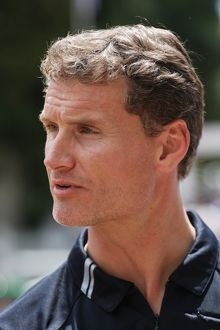 David Coulthard F1 GP racing driver