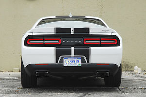Dodge Challenger SRT 392 2015 Black & white