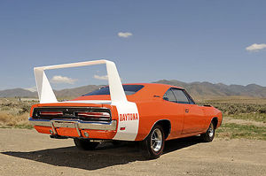 Dodge Charger Daytona 440 1969 orange white