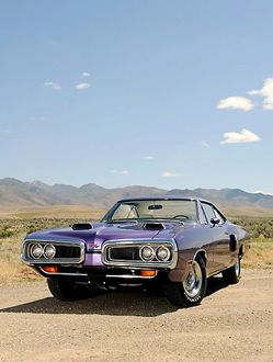 Dodge Coronet Hemi RT 1970 Purple