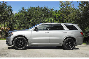 Dodge Durango RT Blacktop Hemi 2015 Silver