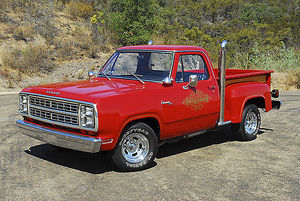Dodge Li'l Red Express Truck 1978 red
