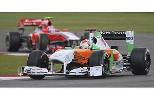 F1 British Grand Prix Silverstone 2011 Adrian Sutil Force India-Mercedes