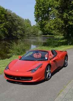 Ferrari 458 Spider 2012 Red