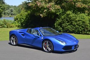 Ferrari 488 Spider 2016 Blue