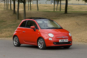 Fiat 500 Ferrari Dealer Ltd Edition (of 200) 2008 red