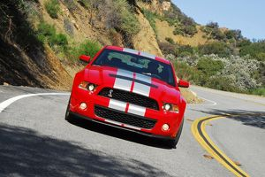 Ford Shelby Mustang GT500 2010 red