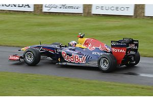 Goodwood Festival of Speed 2012 FOS F1 Red Bull-Renault RB7 2011