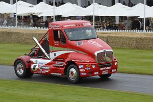 Goodwood Festival of Speed 2012 FOS Kenworth T2000 Pikes Peak 1990