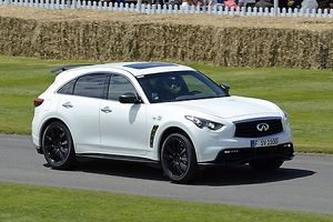 Goodwood Festival of Speed 2012 Infiniti FX Vettel, 2012