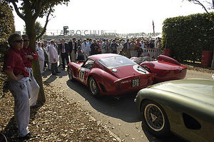 Goodwood Revival Ferrari 250 GTO in line-up