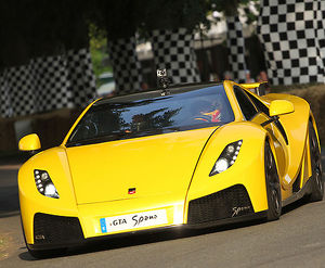 GTA Spano, 2013, Yellow