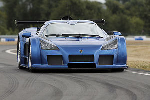Gumpert Apollo 2007 blue