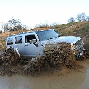Hummer H3 2008 Silver