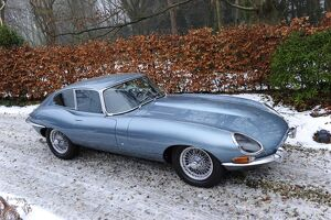 Jaguar E-Type Series 1 3.8-Litre Coupe 1964 Blue metallic light