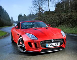 Jaguar F-Type (prototype) 2013 Red