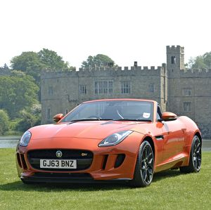 Jaguar F-Type V8S Convertible 2014 Orange