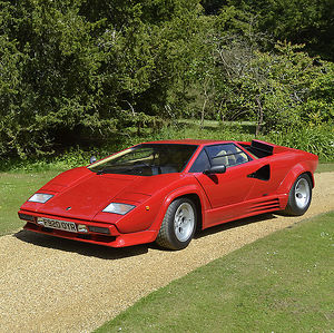 Lamborghini Countach 5000QV 1988 Red
