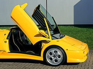 Lamborghini Diablo Roadster 1998 Yellow