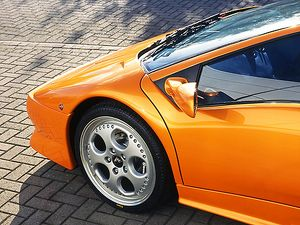 Lamborghini Diablo SV 1998 Orange metallic