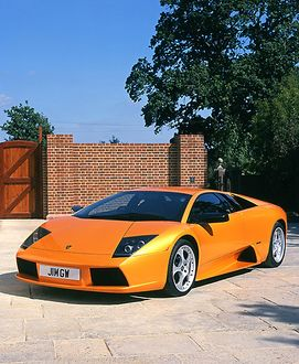 Lamborghini Murcielago 2002 Orange
