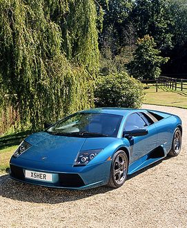 Lamborghini Murcielago 40th Anniversary (ltd edit of 50) 2004 Aqua carbon wheels