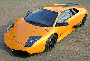 Lamborghini Murcielago LP670-4 SV 2009 orange