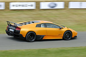 Lamborghini Murcilago LP370-4 SV 2009 orange Goodwood FOS 09