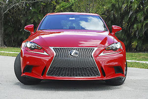 Lexus IS 200t F-Sport 2016 Red