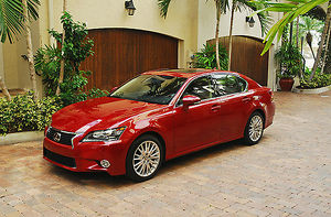 Lexus GS350 2013 Red dark