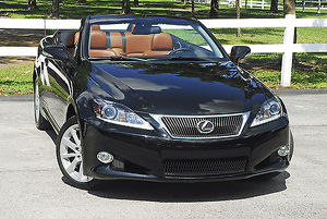 Lexus IS350C (hardtop convertible) 2015 Black