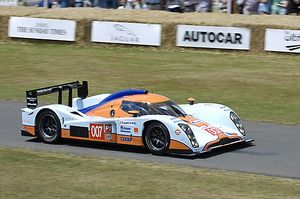 Lola-Aston Martin LMP1 finished 4th Le Mans