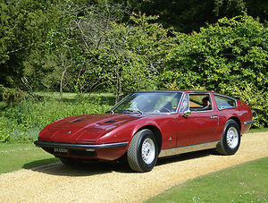 Maserati Indy 1970 Red dark